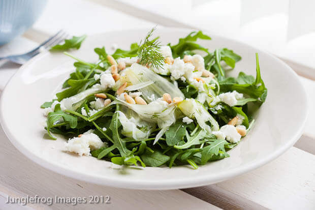 Shaved fennel salad – Bookreview Supernatural Every Day