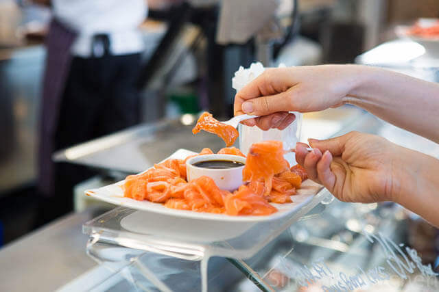 Fresh salmon at Fisketorget | insimoneskitchen.com