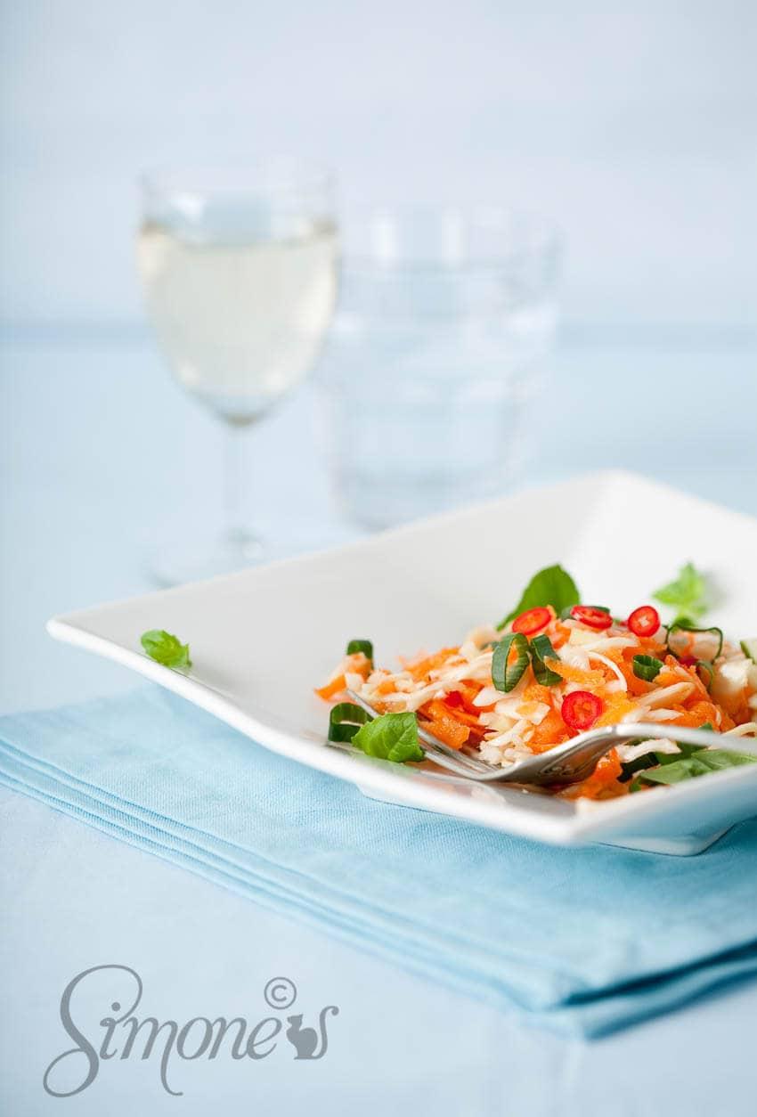 Vietnamese wortelsalade | simoneskitchen.nl