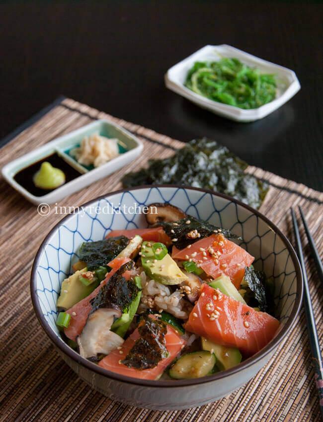Salmon-sushi-salad