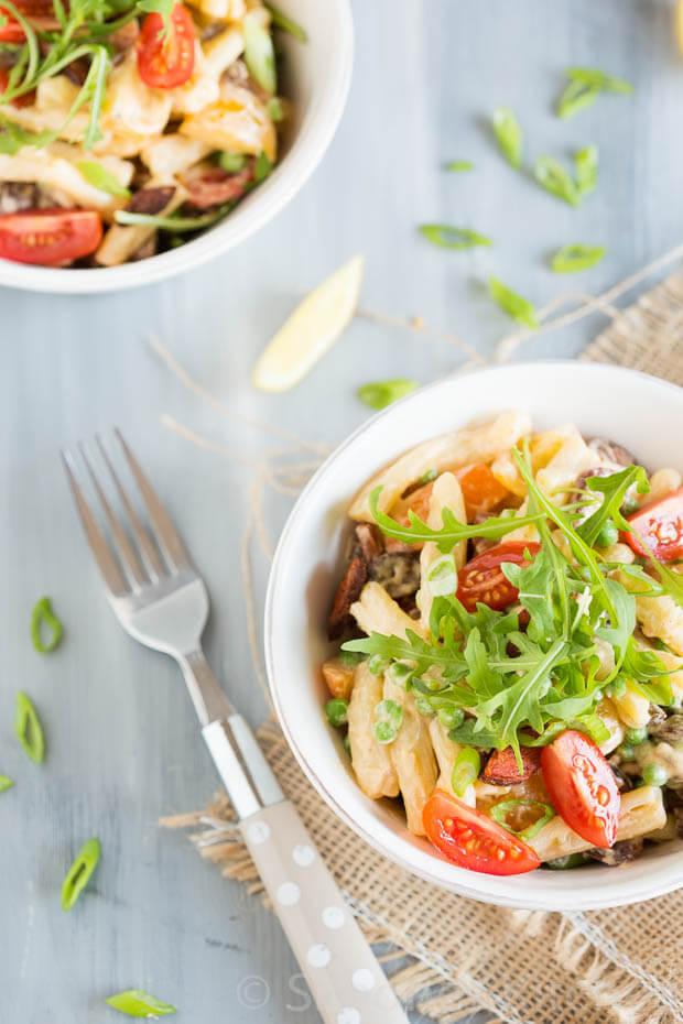 Pasta salade met chorizo | simoneskitchen.nl