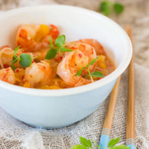 Sweet and sour prawns in 15 minutes   insimoneskitchen.com