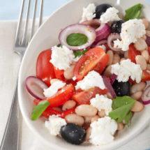 Ricotta en witte bonen salade | simoneskitchen.nl