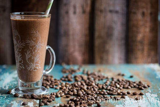 Koffie smoothie | simoneskitchen.nl