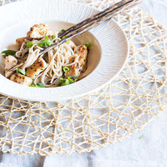 Citroen peper soba noodles | simoneskitchen.nl