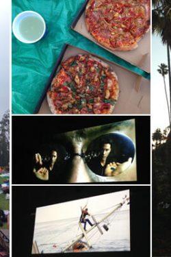 Openluchtfilms kijken op het kerkhof, kijk eens wat een geweldig sfeer! En nog leuker: je mag je eigen eten meenemen, dus ook een afhaalpizza!