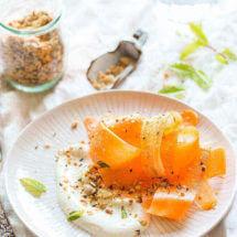 Wortelsalade met yoghurtdressing | simoneskitchen.nl