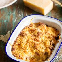 Mac & cheese chorizo