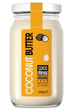 Cocofina - Organic Coconut Butter - 335g Glass Jar - New