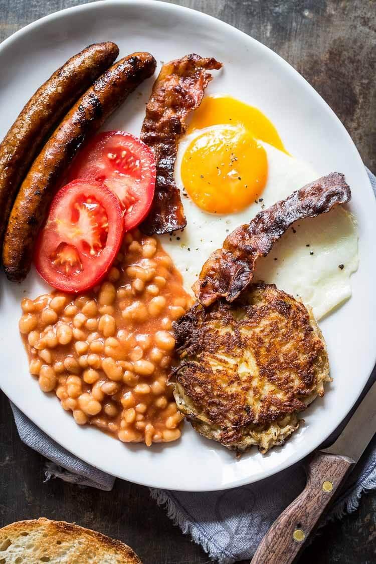 Full English breakfast | simoneskitchen.nl