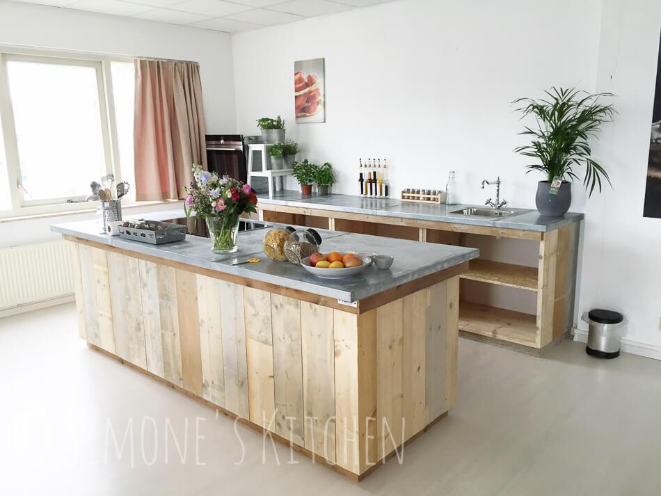 De nieuwe studio keuken