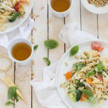 Pastasalade met broccoli | simoneskitchen.nl