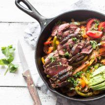 Beef fajitas whole30 | simoneskitchen.nl