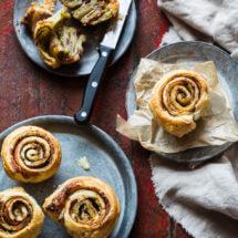Hartige bladerdeeg muffins   simoneskitchen.nl