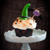 Halloween pompoen cupcakes | simoneskitchen.nl