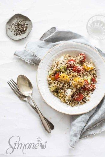Salade van quinoa en venkel   simoneskitchen.nl