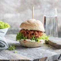 Pulled chicken sandwich   simoneskitchen.nl