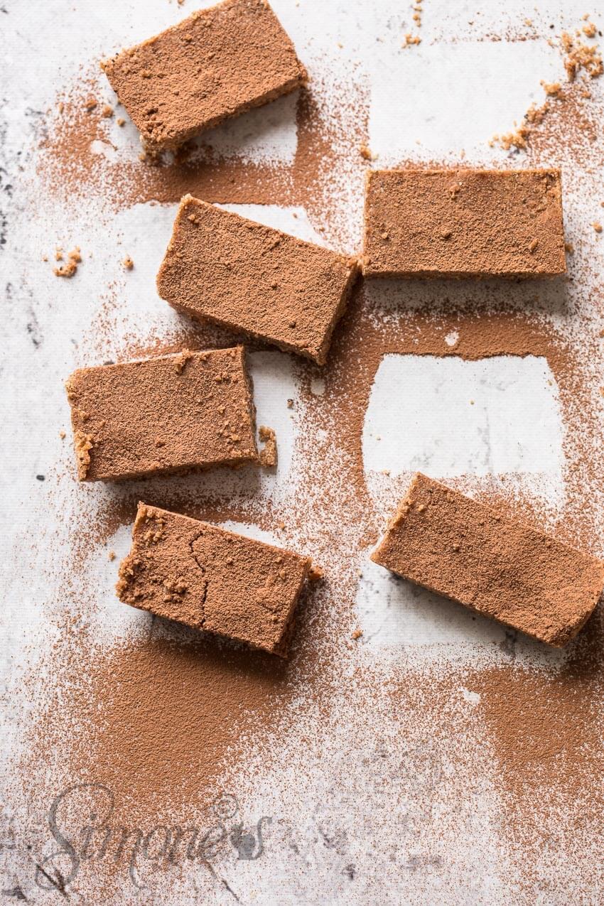 Amandel en cacao powerbars | simoneskitchen.nl