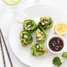 Saladewraps met makreel | simoneskitchen.nl