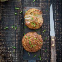 Hartige bacon courgette muffins | simoneskitchen.nl