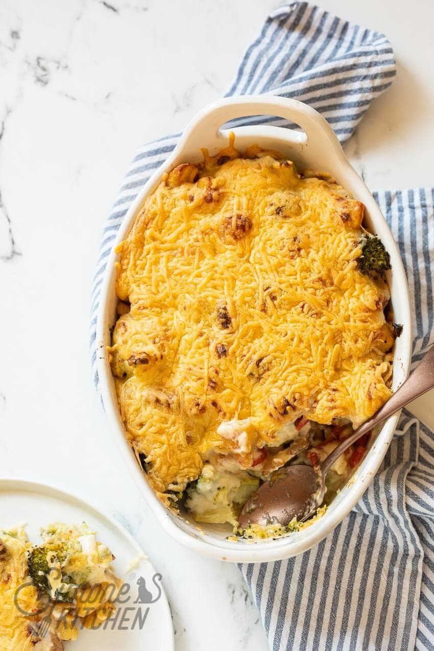 Broccoli met kaassaus uit de oven | simoneskitchen.nl