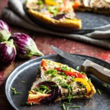 Fritatta met geroosterde groentes | simoneskitchen.nl