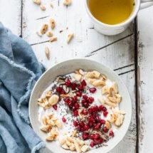 Kokosyoghurt bowl
