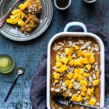 Glutenvrije Paleo broodpudding met pompoen | simoneskitchen.nl