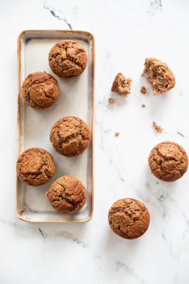Heerlijke paleo appel muffins