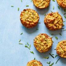 Glutenvrije courgette muffins | simoneskitchen.nl