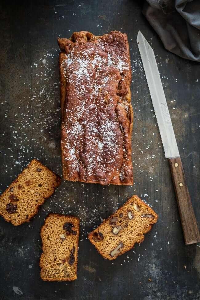 Heerlijk pompoenbrood zonder gluten en paleoproof