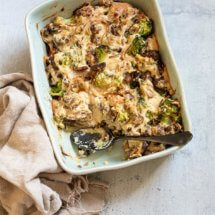 Romige broccoli ovenschotel