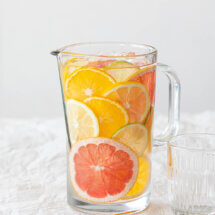 Verfrissend citruswater