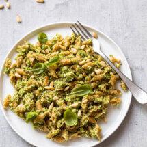 Groene broccolipasta