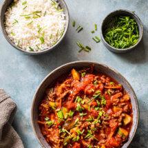 Spicy paleo chili