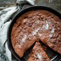 Koekenpan brownie